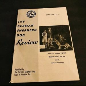 German Shepherd Dog Review January 1974 GSD